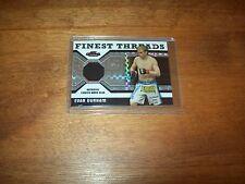 2011 Topps Finest Evan Dunham Fighter Worn Relic Serial #'d Card