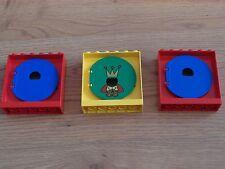 LEGO Duplo - 3 fenêtres avec rond volets/Sortie Balle Tube Slide-GMT36