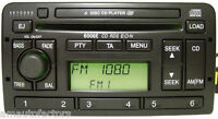 REFURBED FORD 6006E CD CHANGER RADIO RDS CODE FOCUS MONDEO FIESTA PUMA WARRANTY