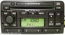 FORD 6006E CD CHANGER RADIO RDS CODE FOCUS MONDEO FIESTA PUMA 2 MONTHS WARRANTY