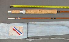Pezon et Michel CANNE à pêche MOUCHE Bambou Fishing Cane Bamboo Fly Rod reel 6