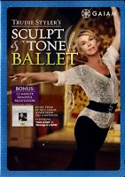 BRAND NEW DVD (NEW WITHOUT SHRINKWRAP) / GAIAM // TRUDIE STYLER // SCULPT BALLET