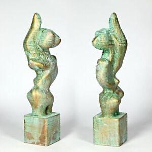"Art sculpture ""Nike"" 25cm unique Andreas Loeschner-Gornau"