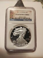 2013 w silver eagle proof 69 ultra cameo NGC