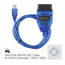 2017 VAG-COM KKL 409.1 OBD2 USB Cable Auto Scanner Diagnostic Tool Audi VW SEAT