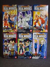 DRAGON BALL Z REAL WORKS Figure - Super Saiyan Series - Complete Set of 6 JAPAN