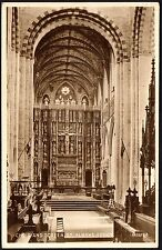 Postcard - Hertfordshire - Choir and Screen, St. Albans Abbey