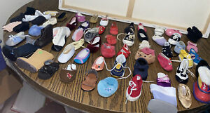 Huge American girl one shoe lot & Some Gloves