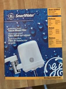 NEW GE Smartwater faucet mount water filtration system Model GXFM03C