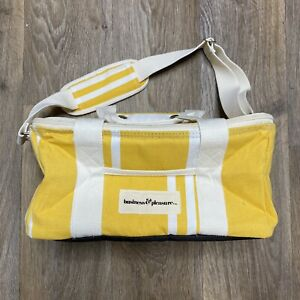 NWT Business and Pleasure Co. Insulated Cooler Bag Yellow Striped Brand New