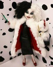 Cruella De Vil Custom Doll by Poppen Atelier