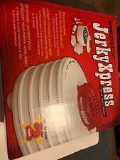 Nesco Food Dehydrator Jerky Gun 3-Tip Attachments 4-Tray 350-Watt Open Box