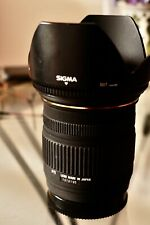 Sigma EX DC 18-50mm f/2.8 DC MACRO Sony A-Mount Jessops UV filter, hood, 2 caps