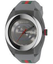 160914c614c Gucci YA137109 Swiss Quartz Stainless Steel Mens Watch - Grey