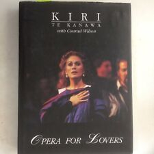 Opera for Lovers, Kiri Te Kanawa / Wilson (HC1996)  New Zealand Music, Free Post