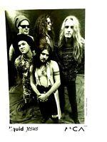 Liquid Jesus Hard Rock Band Original MCA Studio Promo Photo 1990's