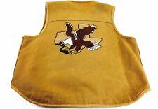 Vintage Vest Western Cowboy Vest Texas Vest Hand Painted Vest Carhartt XXL