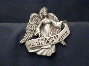 Angel Visor Clip for your car - DAUGHTER, Please Drive Safely, KVC141DTR