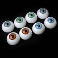 8x Halloween Scary Eyeball Half Round Hollow Cover Party Horro Props Costume