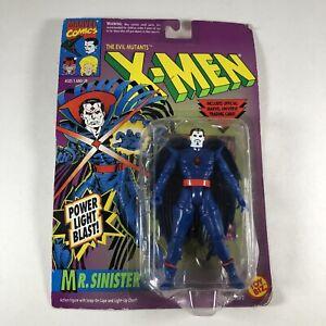 Mr. Sinister ToyBiz 1992 Marvel X-Men Power Light Blast