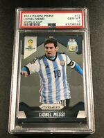 LIONEL MESSI 2014 PANINI PRIZM #12 WORLD CUP PSA 10 GEM ARGENTINA (8588)