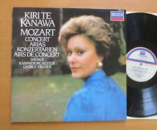 SXL 6999 Kiri Te Kanawa Mozart Concert Arias 1981 NEAR MINT Decca + insert