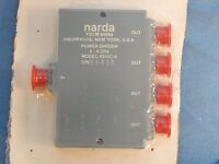 NEW NARDA Model 4313C-4 Four Output Power Dividers 2-4Ghz