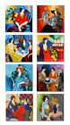 Wall Art Canvas Print,Itzchak Tarkay Oil Painting Figures Woman Lady Home Decor