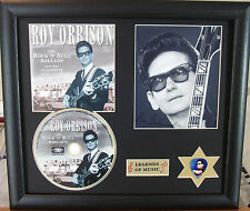 Roy Orbison Genuine CD, Autograph & Plectrum Presentation