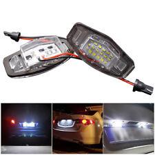 2Pcs License Plate Lamps for Honda CR-V Jazz Error Free Number Plate Led Lights