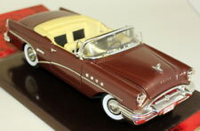 Mira 1/18 Scale - 6119 1955 Buick Century Convertible Brown Diecast model car