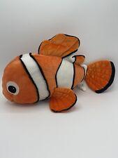 Disney Pixar Plush Finding Nemo Clown Fish Orange Stuffed Animal Toy A5