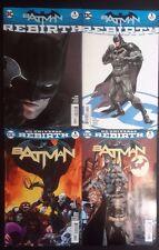 4X DC Universe Rebirth BATMAN #1 & Batman One Shot  Regular & Variant Covers