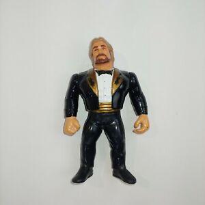 Ted DiBiase WWF Titan Sports Wrestling Action Figure Toy WWE Loose 1990