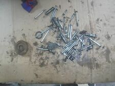HONDA CR80 CR 80 Elsinore 1980 misc motor parts cylinder head bolts bolts gear +
