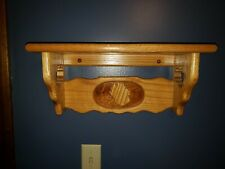 Oak Wood Shelf,  Farmhouse Decor!