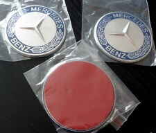 Mercedes Benz emblem logo 57mm flat with adhesive back