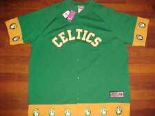 Boston Celtics NBA Hardwood Classics Green Shooting Warmup Pants Set 2XL New