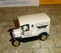 LLEDO - RARE - 1920 MODEL T FORD VAN - A CENTURY OF FORDS   - CASTLEHOUSE LTD ED
