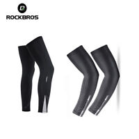 RockBros Cycling Outdoor Arm Covers Oversleeve Leg Cover Warmers Sun Protection