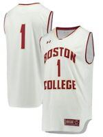 Boston College Eagles Under Armour NCAA Basketball Replica White #1 Jersey