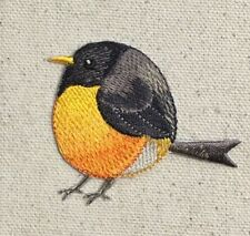 Chubby Robin - American Bird Spring/Nature Iron on Applique/Embroidered Patch