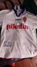 maglia Saragozza Zaragoza Real shirt size S chest 46 cm camiseta maillot jersey