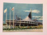 3D Lenticular Postcard - YOYOGI NATIONAL GYMNASSIUM, Toppan, Tokyo, Japan