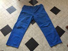 ancien pantalon bleu de travail, taille 58