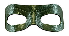 TV's Green Arrow Costume Leather Eye Mask - MOST Authentic - FREE Bonus!