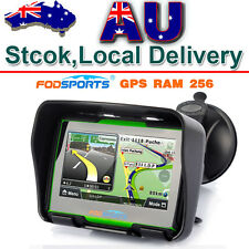 Bluetooth Motorcycle GPS SAT NAV Navigation 4.3inch Touch Screen 8G 256M 3D Maps