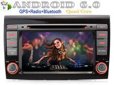 "Per Fiat Bravo 2007-2012 GPS Autoradio DVD NAVI Android 6.0 7"" WIFI DVR SD MP3"