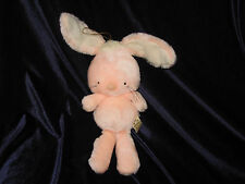 Applause Stuffed Plush Bunny Rabbit Pink Peach 1982 # 7861 Fern 11""