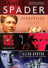 James Spader:3 Movie CollectionNew Kids/Storyville/Alien Hunter (DVD, 2015)New
